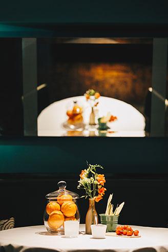 Bocconi, restaurant de l'hôtel Amigo à Bruxelles