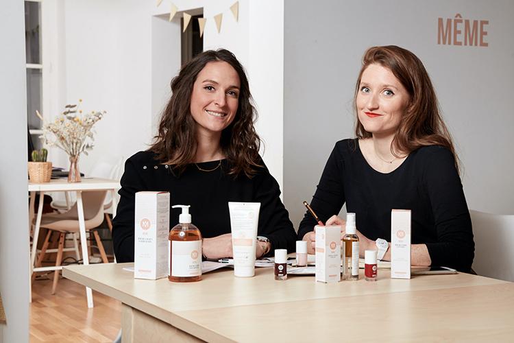 Judith Levy & Juliette Couturier, les fondatrices de la marque de cosmétiques Même.