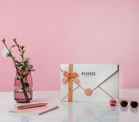 La Love Letter Box de Neuhaus Saint Valentin