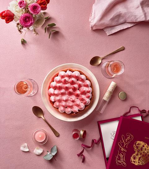 Pour la St Valentin, Les Tartes de Françoise ont créé un coffret gourmand