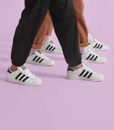 Adidas célèbre les 50 ans de la Superstar avec un nouveau modèle inédit