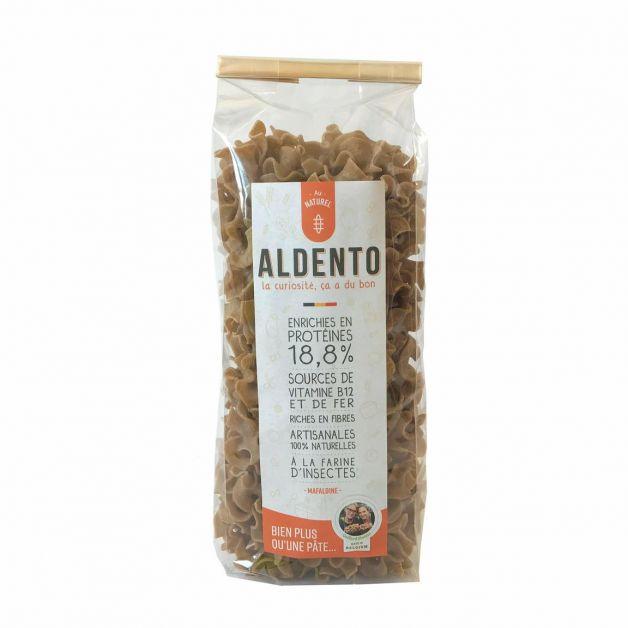 Aldento, des pâtes artisanales enrichies à la farine d'insectes