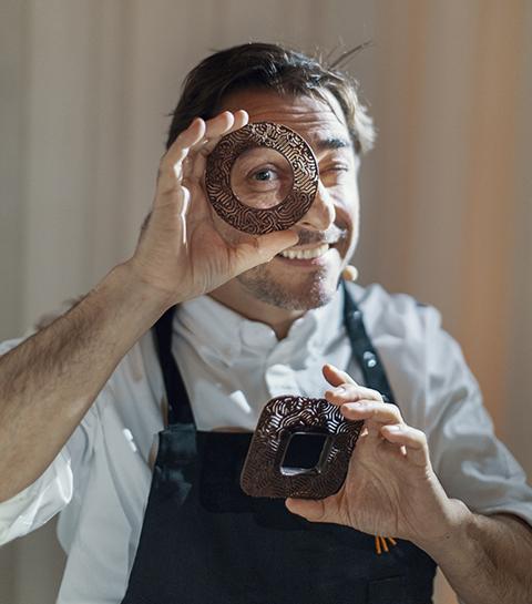 Le chef pâtissier Jordi Roca