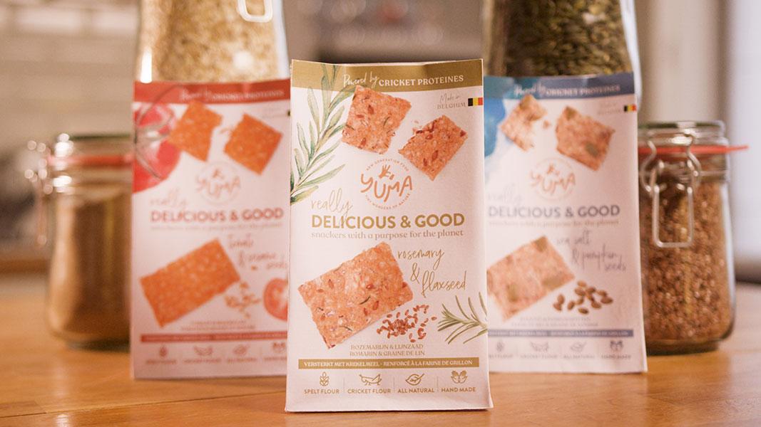 sachets de crackers Yuma