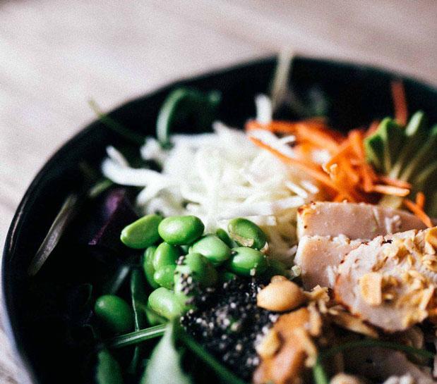 Fast Good nourriture healthy et à emporter