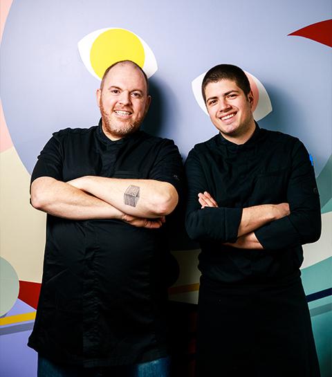 Sullivan et Maxime du restaurant Masu
