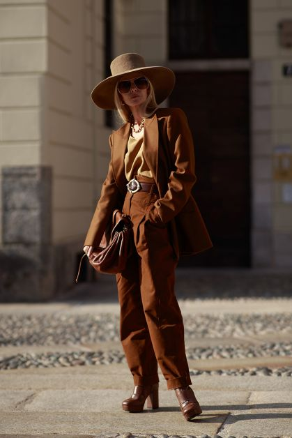 Streetstyle : les beaux looks de la Fashion Week de Milan - 1