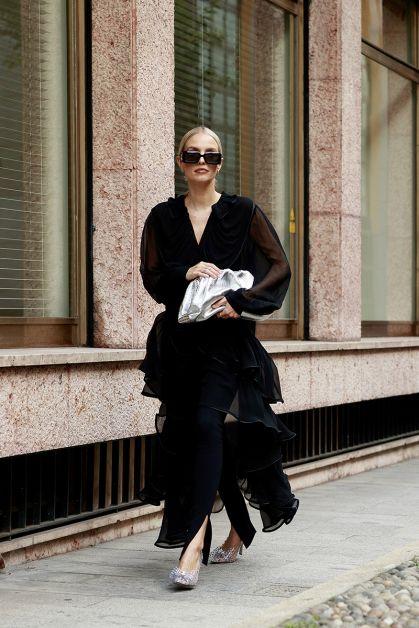 Streetstyle : les beaux looks de la Fashion Week de Milan - 8