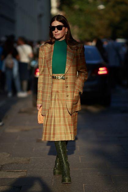 Streetstyle : les beaux looks de la Fashion Week de Milan - 11