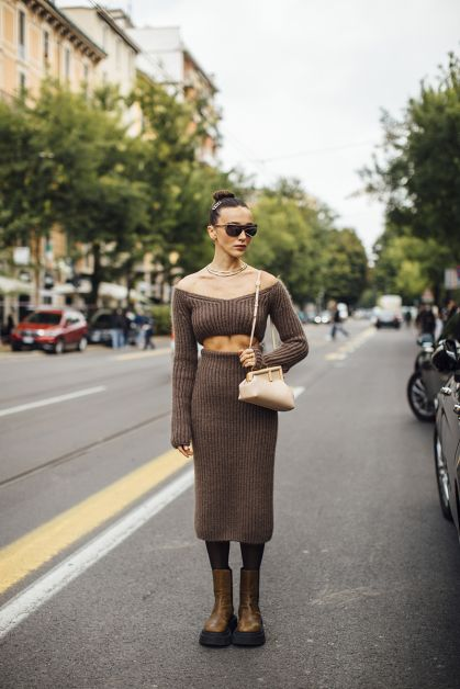 Streetstyle : les beaux looks de la Fashion Week de Milan - 19