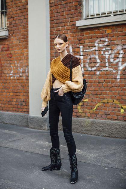 Streetstyle : les beaux looks de la Fashion Week de Milan - 22