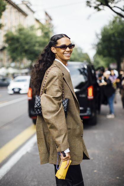 Streetstyle : les beaux looks de la Fashion Week de Milan - 25