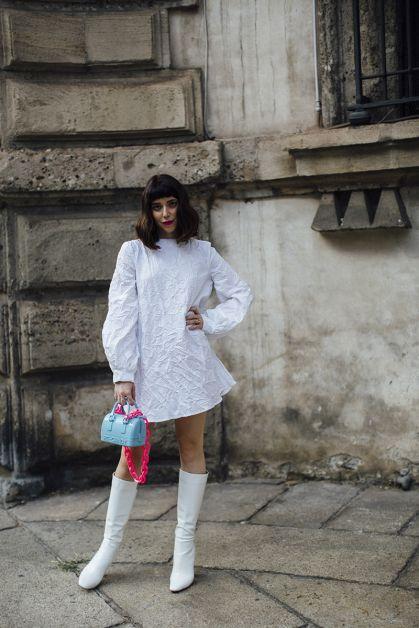 Streetstyle : les beaux looks de la Fashion Week de Milan - 31