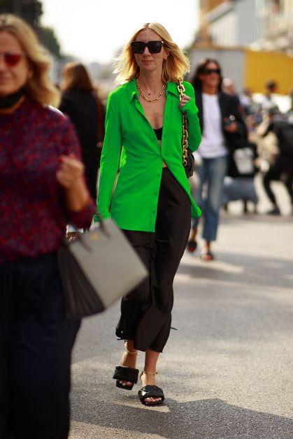 Streetstyle : les beaux looks de la Fashion Week de Milan - 45