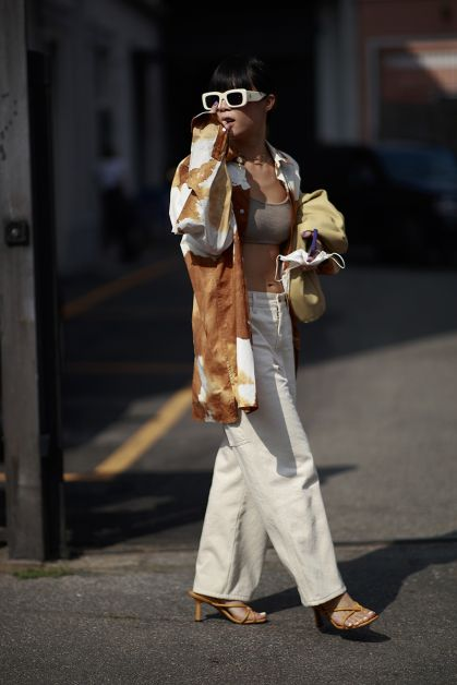 Streetstyle : les beaux looks de la Fashion Week de Milan - 47