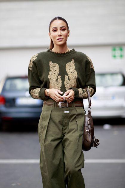 Streetstyle : les beaux looks de la Fashion Week de Milan - 48
