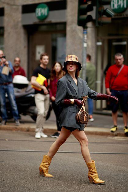 Streetstyle : les beaux looks de la Fashion Week de Milan - 67