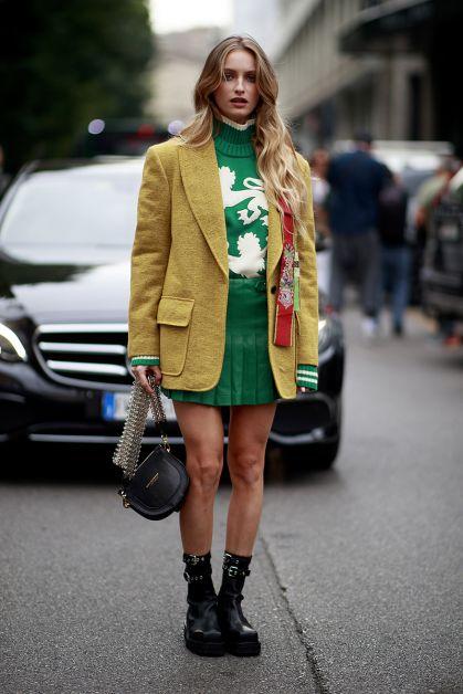 Streetstyle : les beaux looks de la Fashion Week de Milan - 68