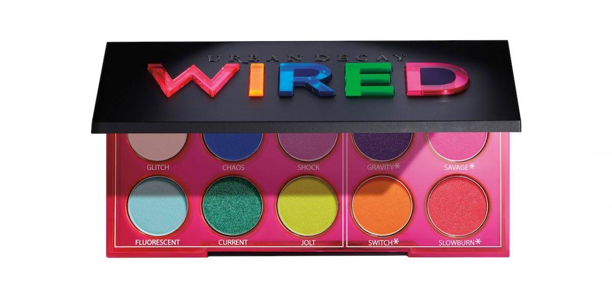 palette wired maquillage