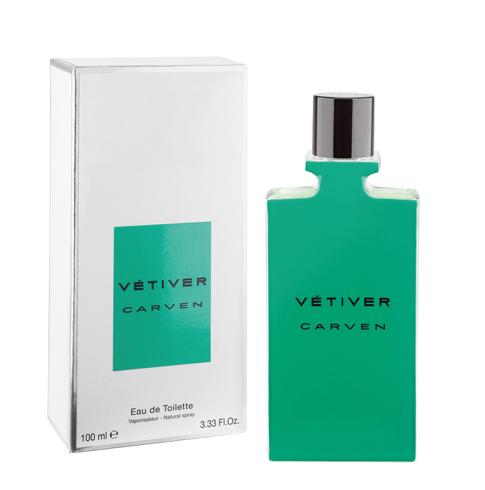 Vétiver est le premier parfum masculin signé Carven.