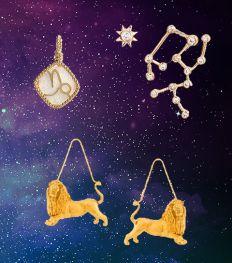 Shopping : les plus beaux bijoux astrologiques du moment