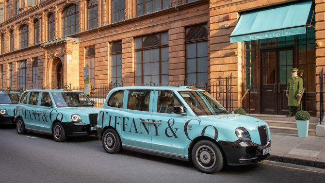 londres voiture tiffany & co