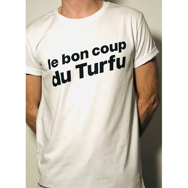 vogue turfu t-shirt blanc