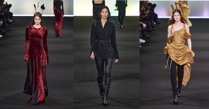 Anne Demeulemeester Fashion Week Paris