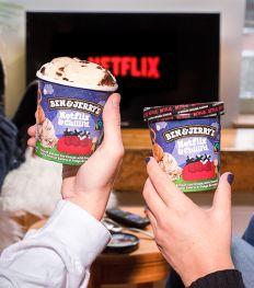 Netflix et Ben & Jerry's signent une collab' glacée