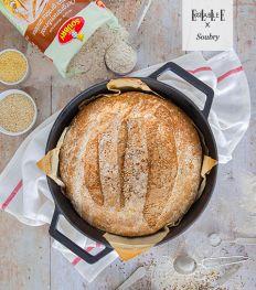 Recette : pain aux grains anciens cuit en cocotte