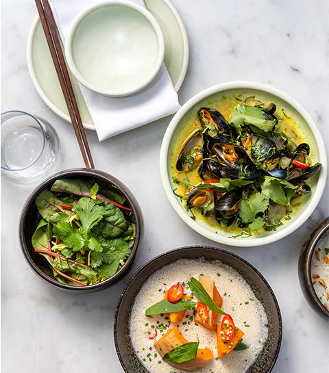 Plats restaurant vietnamien Nénu
