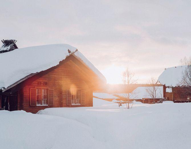 En Laponie, un refuge dans les règles de l'art