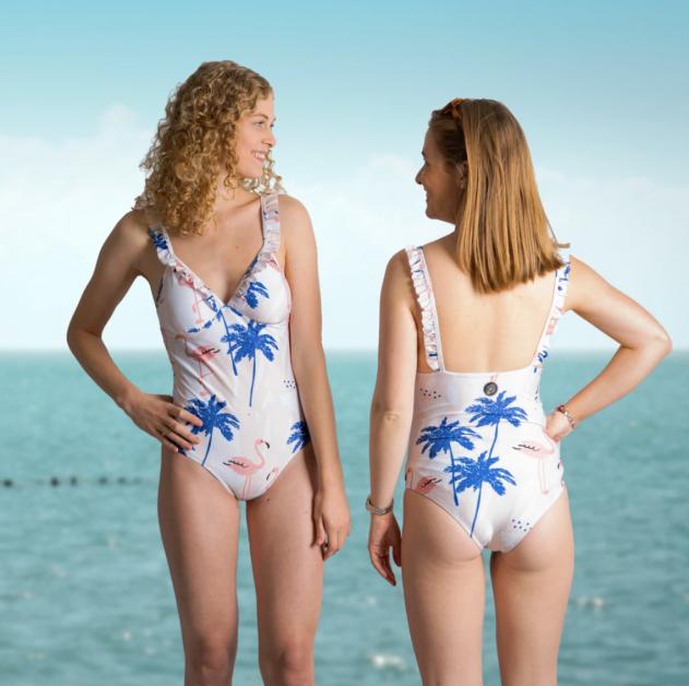 Become maillot en plastique recyclé