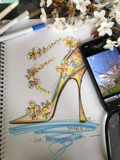 dessin Jimmy Choo