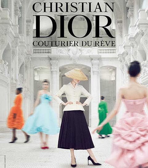 Visitez l'exposition «Christian Dior, couturier du rêve» depuis votre salon