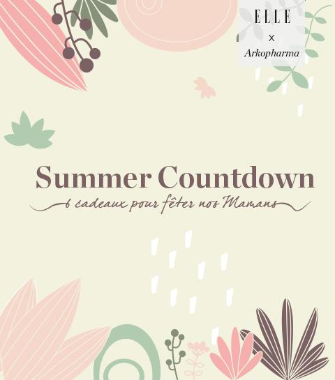 Summer Countdown : 6 cadeaux pour fêter nos Mamans