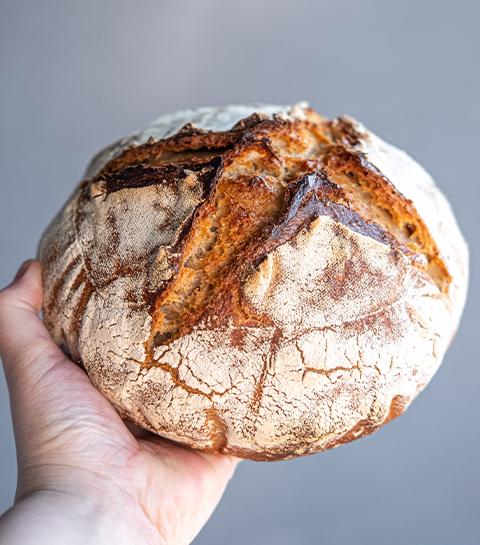 J'ai testé mon premier pain au levain maison