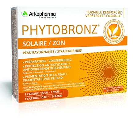 PHYTOBRONZ - 30 gélules - 25,45€
