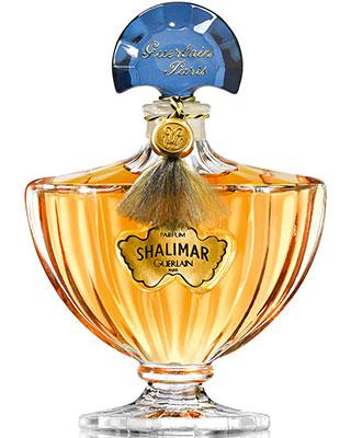 Flacon du parfum Shalimar de Guerlain.