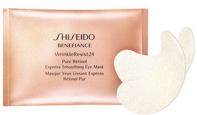 Masque lissant pour les yeux de la gamme Benefiance de Shiseido.