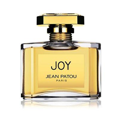 Flacon du parfum le plus cher : Joy de Jean Patou.