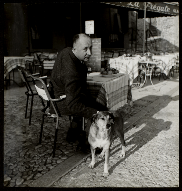 Christian Dior et son chien Bobby