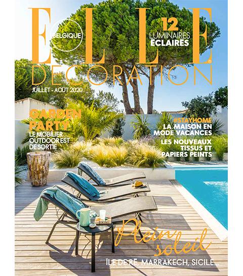 Lisez gratuitement le ELLE Décoration Belgique de l'été