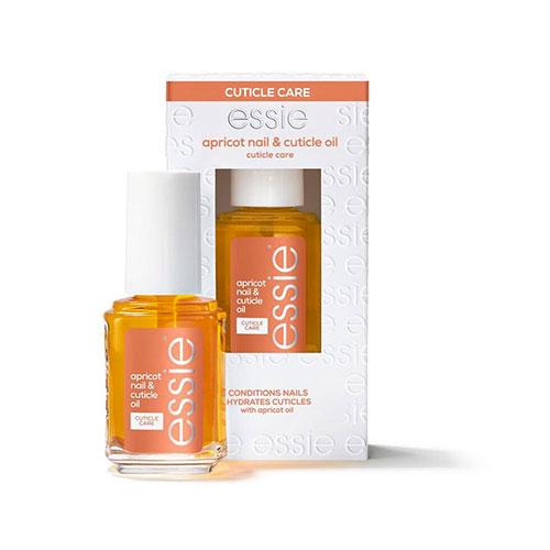 Huile de soin pour cuticules à base d'huile d'abricot d'Essie pour réussir votre pédicure parfaite.