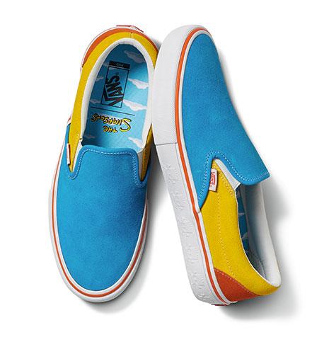 Notre modèle de baskets préféré de la collection Vans x The Simpsons.