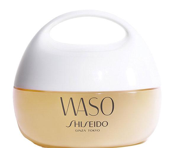 Gel hydratant visage de la gamme jeune Waso de Shiseido pour rester belle pendant la canicule.
