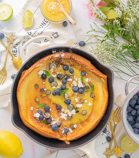 Dutch baby pancake de Simply Morane