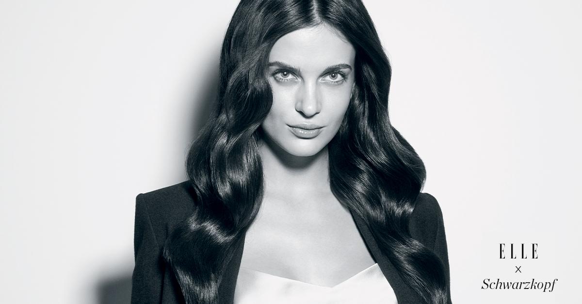 Mannequin aux cheveux bruns