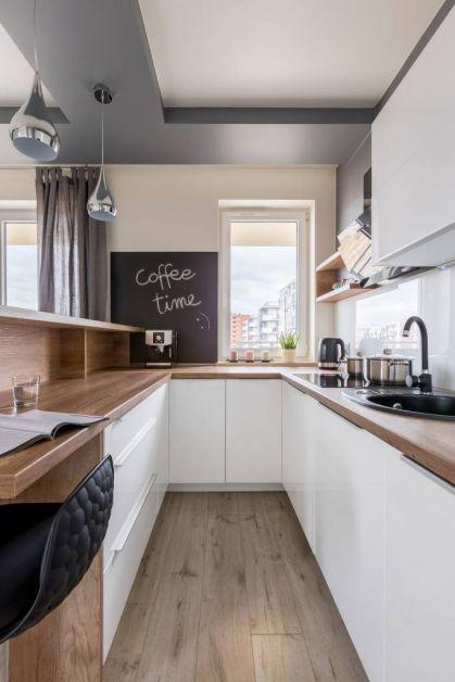 Petite cuisine : gagner de la place avec les portes coulissantes - 1
