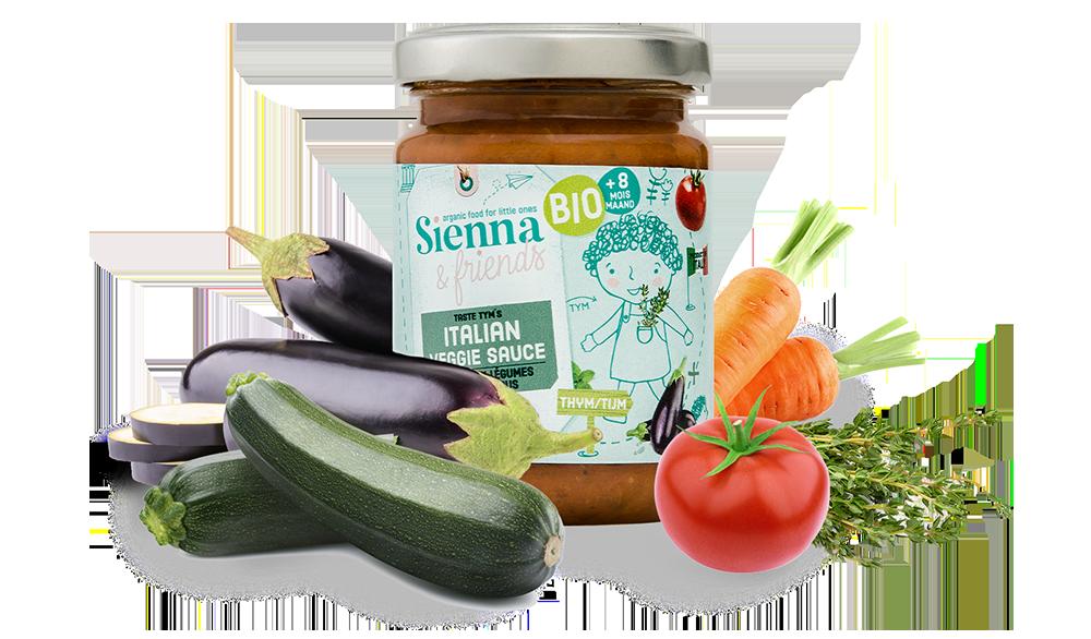 Sauce aux légumes Sienna & Friends